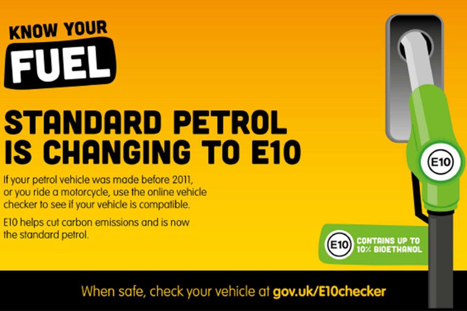 e10 Fuel dot gov uk image